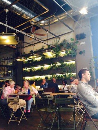 Bonita Terraza Mal Servicio Picture Of Cafe Y Tapas Goya