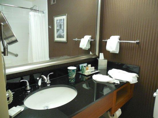 Hilton San Francisco Financial District: Bathroom Vanity