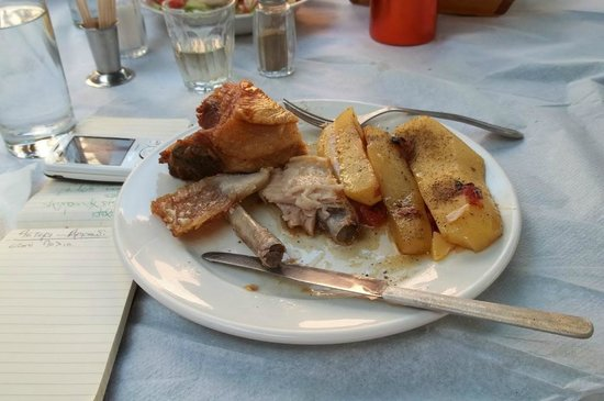 Katalagari, Grecia: the best pork ever !