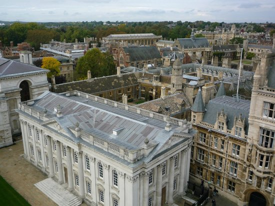 Great St Mary's Church (Church of England): The Senate House, Gonville and Caius, and Trinity Hall