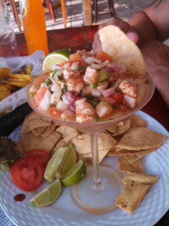 Island Pearl: Best Ceviche EVER !!!