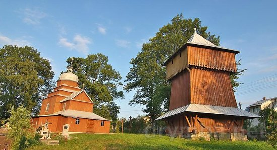 Drohobych, ยูเครน: Saint Paraskeva Wooden Church
