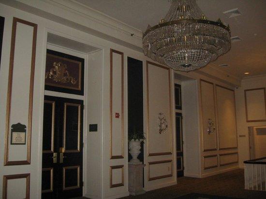 "Bourbon Orleans Hotel: ""Haunted"" chandelierr ballroom"