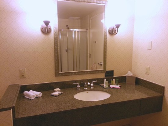 Hilton Scranton & Conference Center: King Suite w/Whirlpool