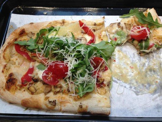 & Pizza : Backyard Garden Pizza