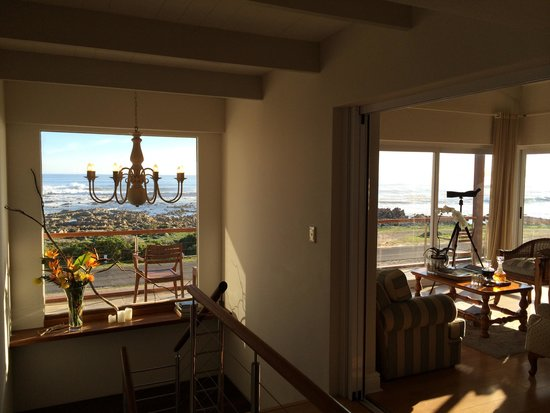 138 Marine Beachfront Guesthouse: View from upper level common area