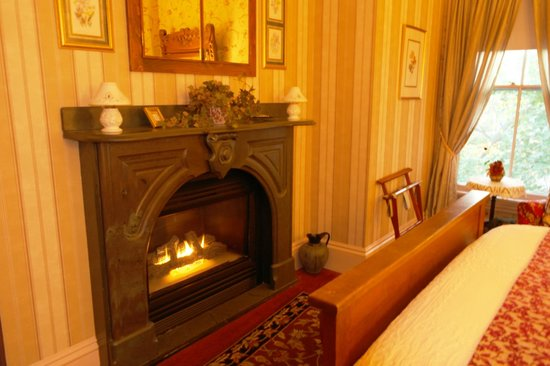 1868 Crosby House: We had a gas fire