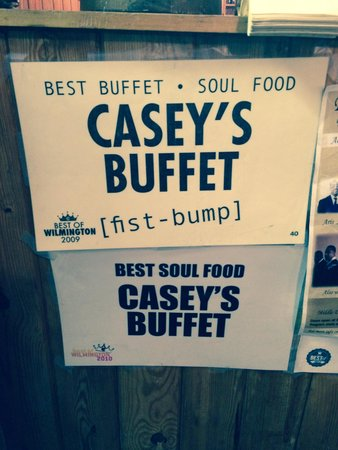 Casey's Buffet Barbecue & Home Cookin: Sign