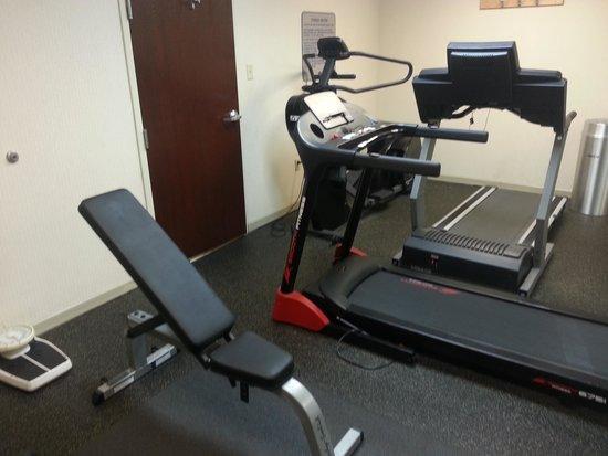 Quality Inn Memphis Airport : gym