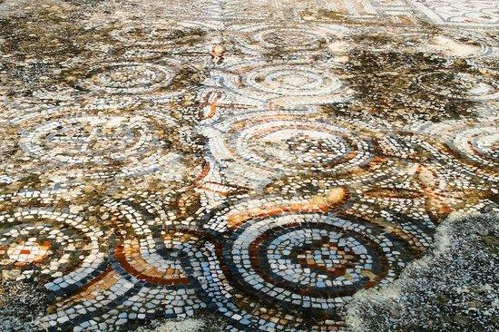 Ancient City Of Ephesus: Ancient Greek City Of Ephesus, Mosaic Tile Floor