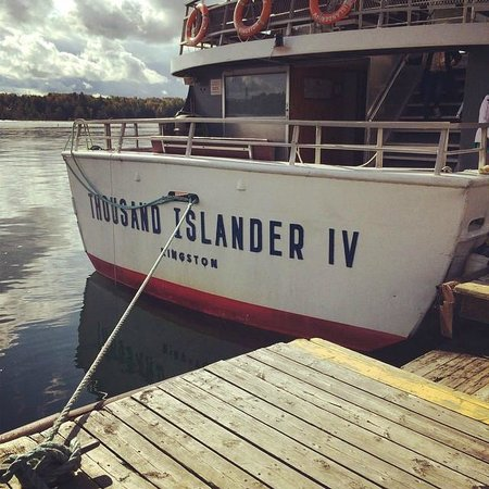 ‪‪Gananoque‬, كندا: Our boat for the tour‬