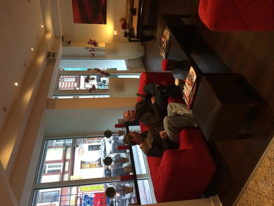 Ambassador Frankfurt Hotel: Recepção muito agradável!!!