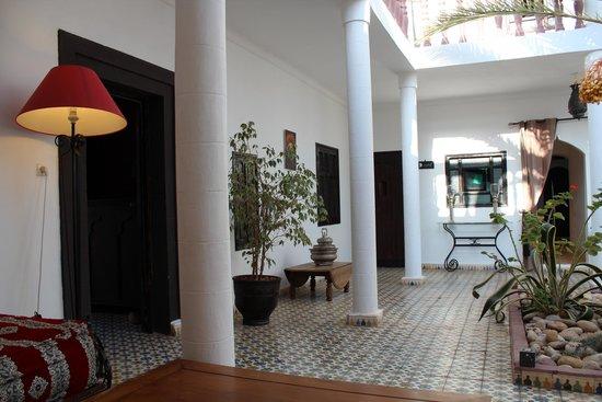 Villa Saada : superbe patio!!
