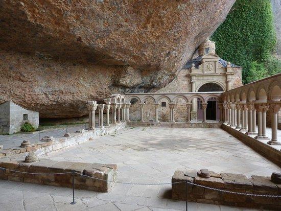 San Juan de la Peña: Oud gedeelte van het Monasterio