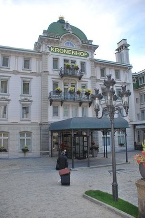Grand Hotel Kronenhof: worth the trek to the kronenhof anyday