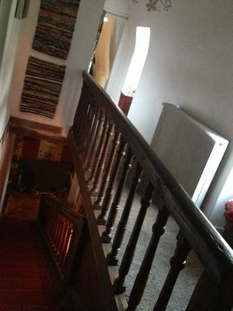 Manoir de Boisairault: The stairs
