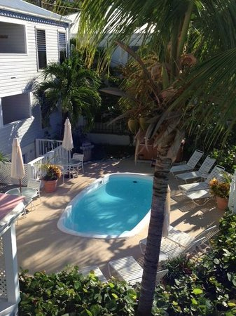 Coconut Coast Villas : Pool view from Poinsettia balcony
