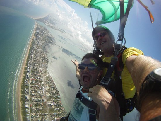 Skydive South Padre Island: Tandem jump with Sparky at Skydive SPI