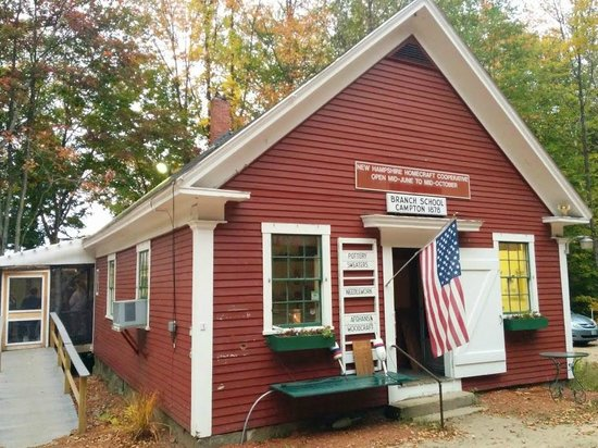 The Little Red Schoolhouse : The place