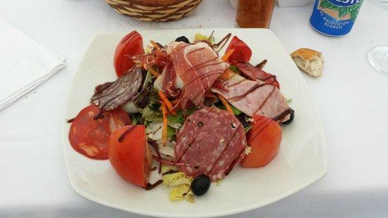 Emporda Restaurant: Entrée - Salade ibérique