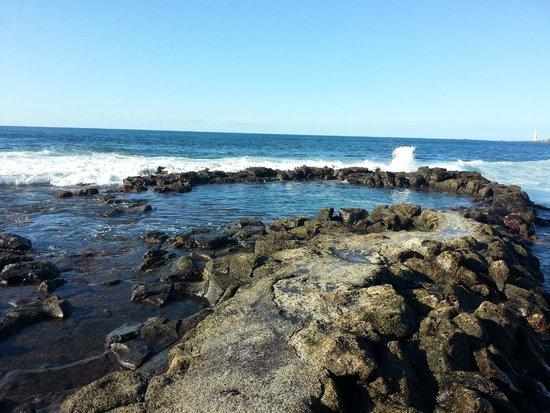 Bajamar probablemente las mejores piscinas naturales de for Piscinas naturales jover tenerife