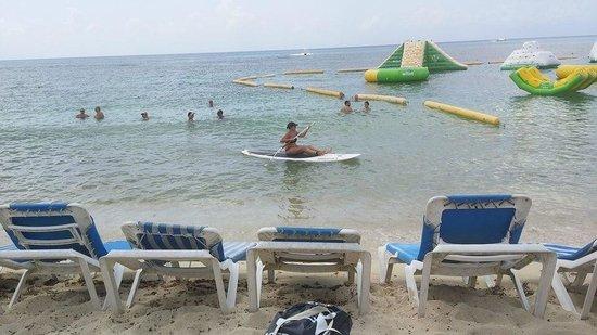 Ha Haak Paddleboarding Cozumel : Starting SUP