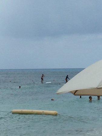 Ha Haak Paddleboarding Cozumel : Getting better!!