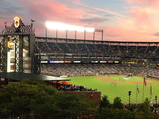 View of Oriole Park from Hotel Balcony