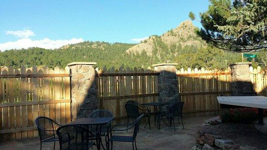 The Maxwell Inn: New patio
