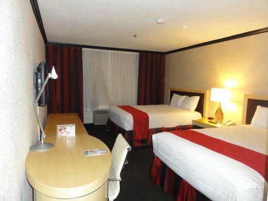 """Primm Valley Resort & Casino : Zimmer """"ohne Ausblick"""" aber OK"""