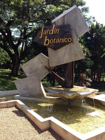 Jardin Botanico: Entrance to the Botanical Garden