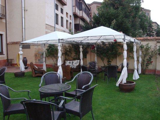 Hotel Don Felipe: terraza