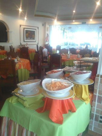 Sol Caribe San Andres: Restaurant tipo bufet