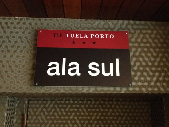 HF Tuela Porto: Hotel Hf - ala sul
