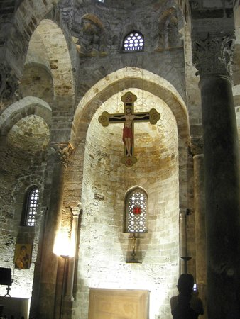 Church of San Cataldo: Serene and somewhat unadorned. You could picture a Norman knight praying here.