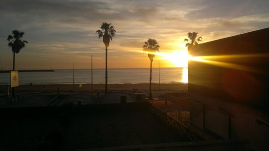 Hosteria Miramar : atardecer de la costa uruguaya