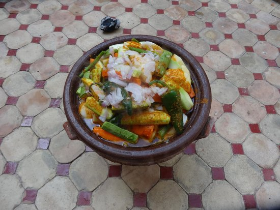 Maison Africa: Vegetable and beef tagine