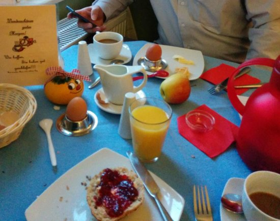 Altstadthotel Molitor: Frühstück! Super.