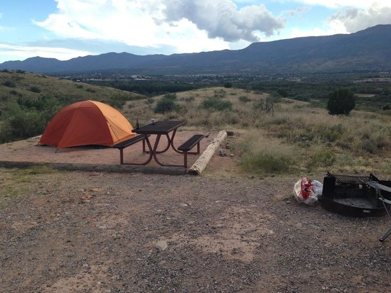Dead Horse Ranch State Park Campground: site 116