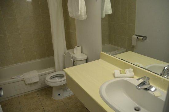 Super 8 Niagara Falls North: Bathroom with all needed