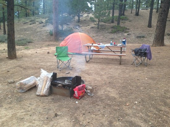North Campground: big site, quiet, peaceful