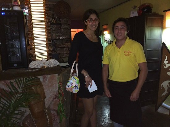 Makona Restaurant : Here is myself with Francisco