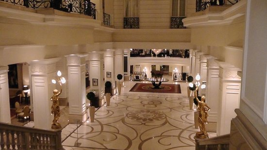 Hotel Foyer : The beautiful hotel foyer has wow factor picture of