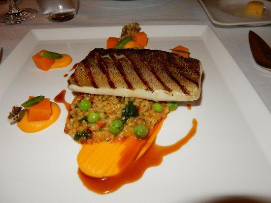 Havis: Grilled Pike Perch w Barley and Pumpkin