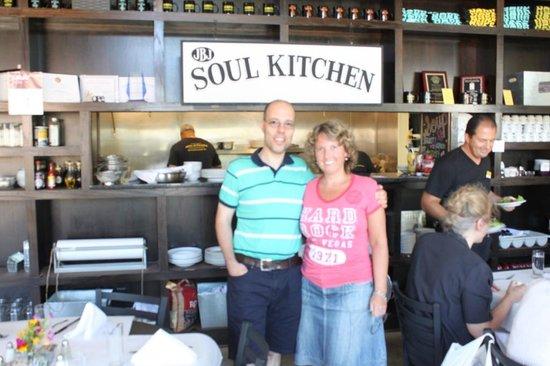 JBJ's Soul Kitchen : Interno