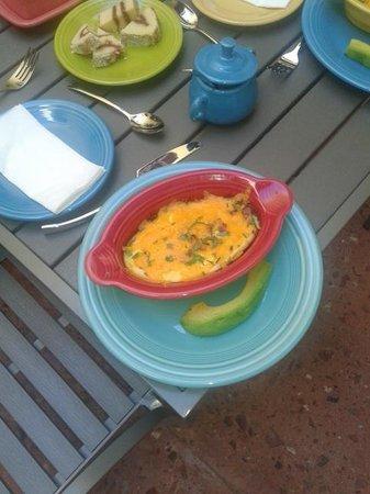 Casa Sol Bed and Breakfast: Puerto rico desayuno