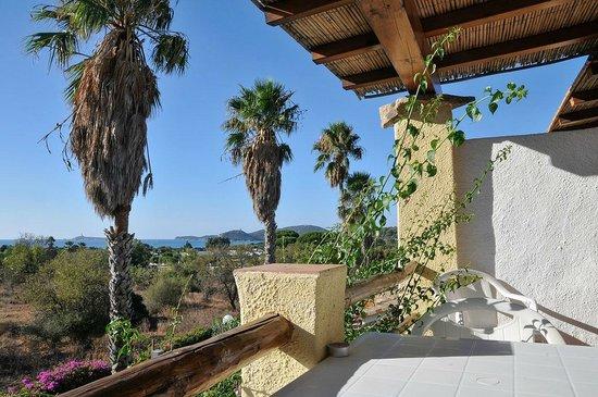 Residence Le Bouganville : Blick vom Balkon