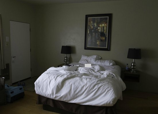 Cambria Palms Motel: Intérieur de notre chambre