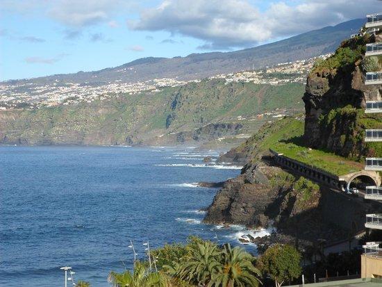 Palmeras Playa: view from balcony