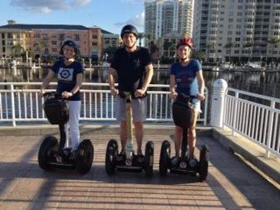 Magic Carpet Glide: Segway Tour in Tampa